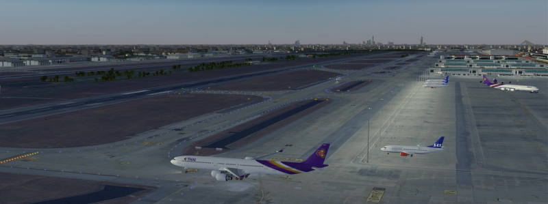 Don Mueang (VTBD) international airport, Thailand